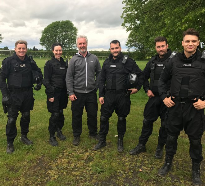 Bancroft Firearms Officers Background Artistes